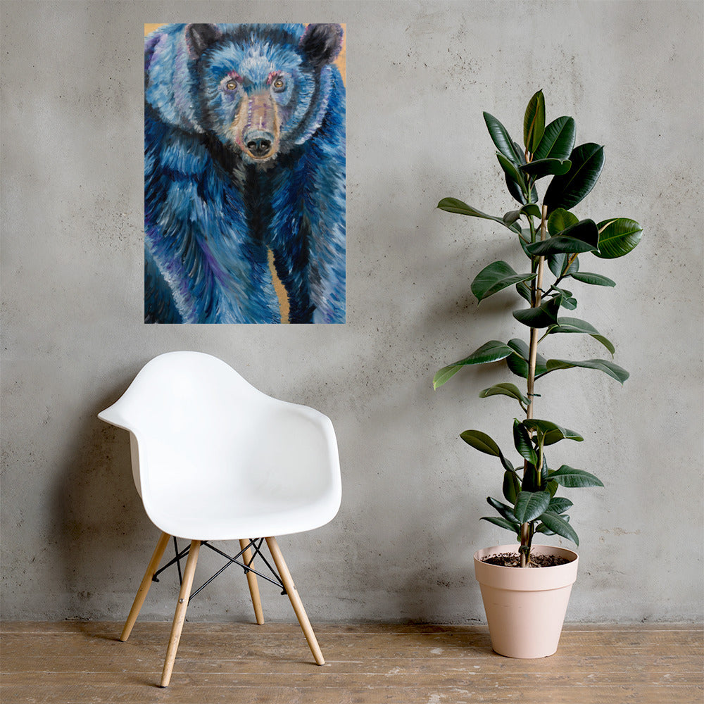 Bear Poster Print 24in x 36x