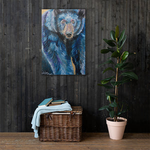 Bear Canvas Print 24in x 36in