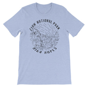 Zion Unisex short sleeve t-shirt