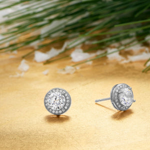 6.5mm CZ Studs - Lierre Bridal Accessories