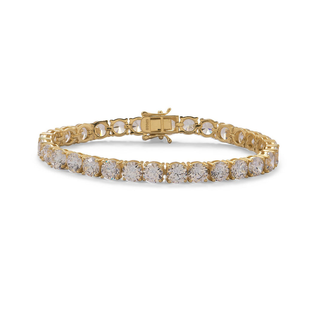 Gold Plated CZ Tennis Bracelet