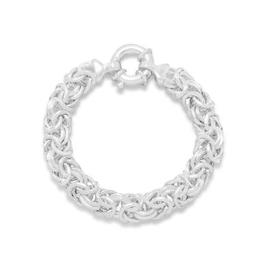 Oval Byzantine Bracelet - Lierre Bridal Accessories