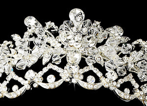 Swarovski Crystal Bridal Jewelry and Tiara Set - Lierre Bridal Accessories