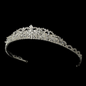 Swarovski Crystal Bridal Tiara - Lierre Bridal Accessories
