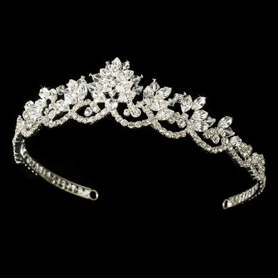 Vintage Inspired Bridal Tiara - Lierre Bridal Accessories