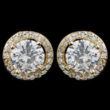 Mini Pave CZ Stud Earrings - Lierre Bridal Accessories