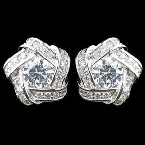 Eternity Earrings - Lierre Bridal Accessories