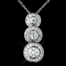 Clear Bridal Necklace - Lierre Bridal Accessories