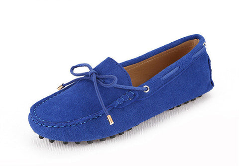 Ladies Soft Leather Moccasins