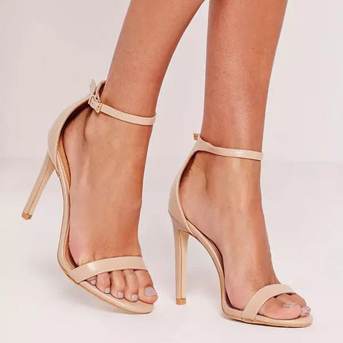 Beautiful Ankle Strap Heels
