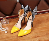 Butterfly Wings Bridal Shoes