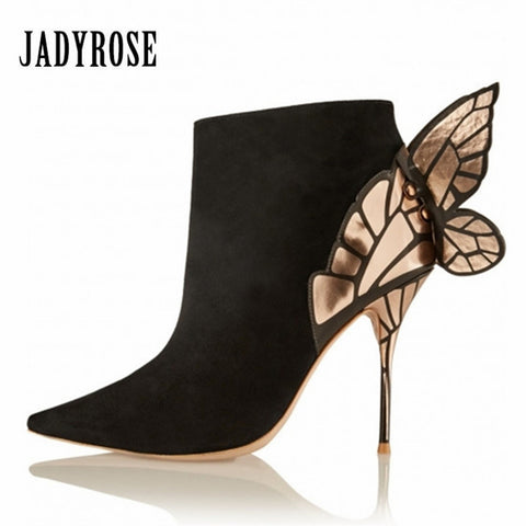 Valentine Butterfly Ankle Boots