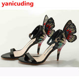 Peep Toe Butterfly Wings