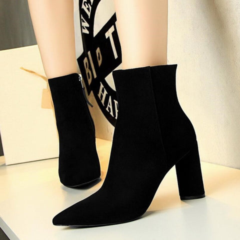 Ladies Plush Boots