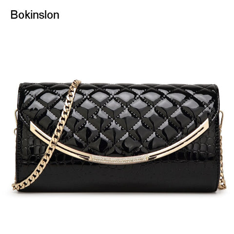 Bokinslon Women Small Square Bags PU Leather Zipper Lady Handbags Bags Fashion Popular Handbags Women Bags