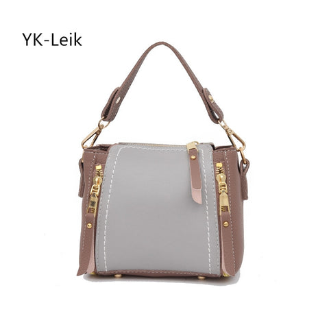 YK-Leik 2018 Japan and South Korea fashion women bag Popular tassel shoulder Messenger bags Flag bag