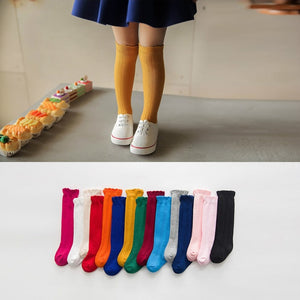 COLORED KNEE SOCKS
