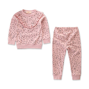 DOTS SWEATSHIRT SET