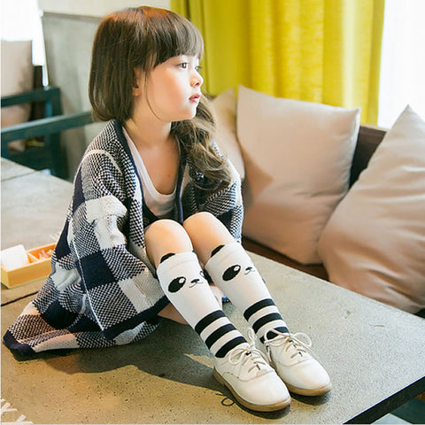PANDA KNEE SOCKS 0-6 years old