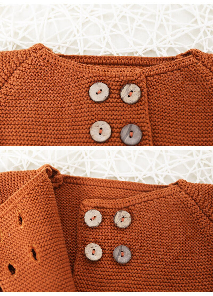 OLD SCHOOL KNITTED CARDIGAN SET