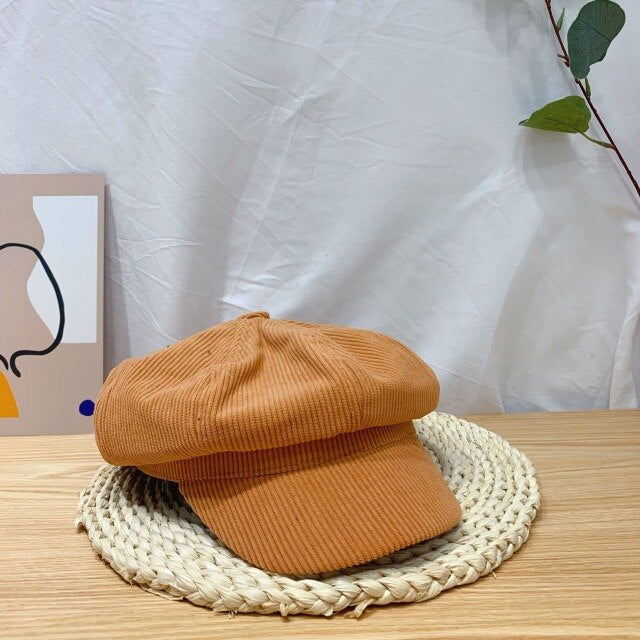 CORDUROY WINTER HAT