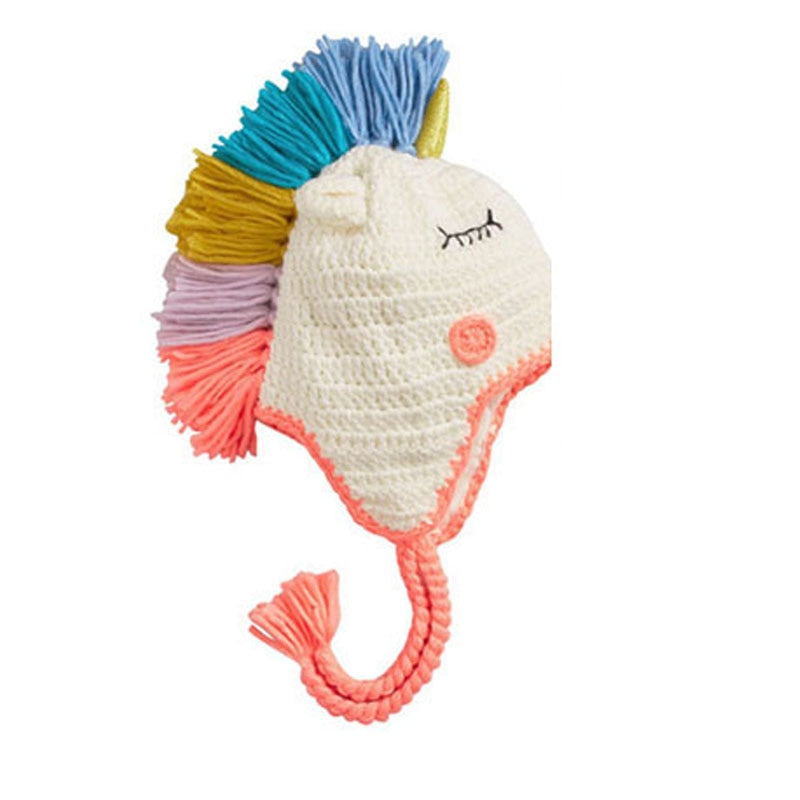 UNICORN KNITTED HAT