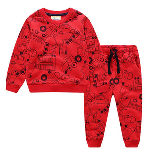 THE RED TRUCK SWEAT SET