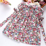 FLORAL SMOKED DRESS