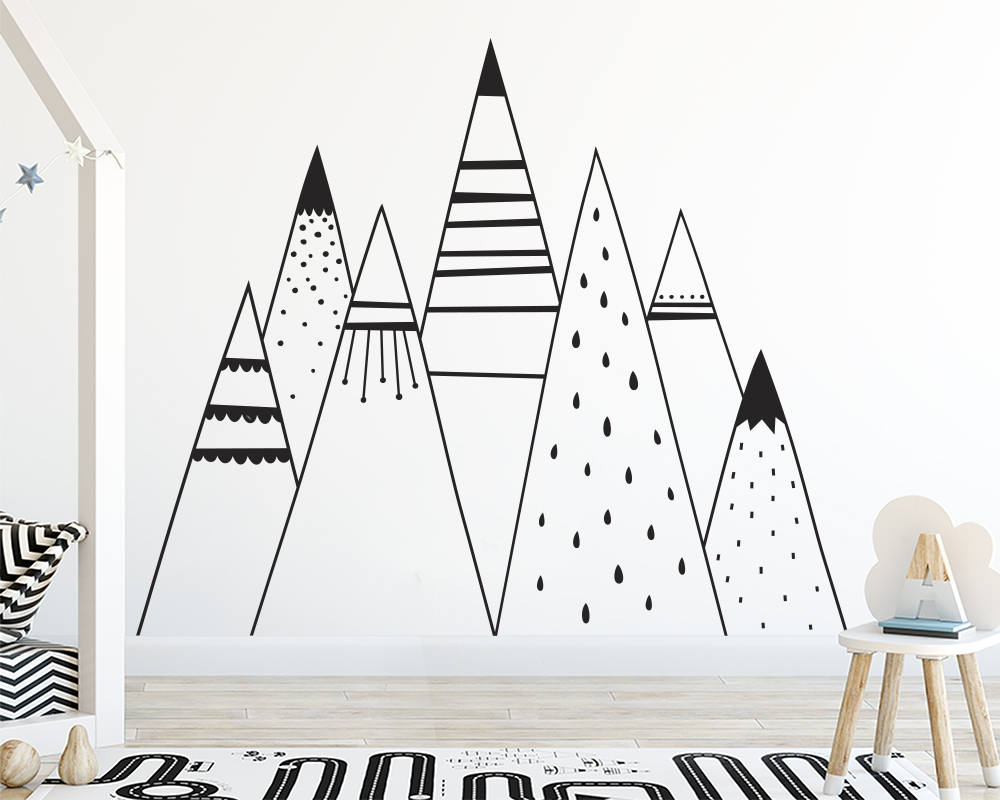 MOUNTAINS Wall stickers