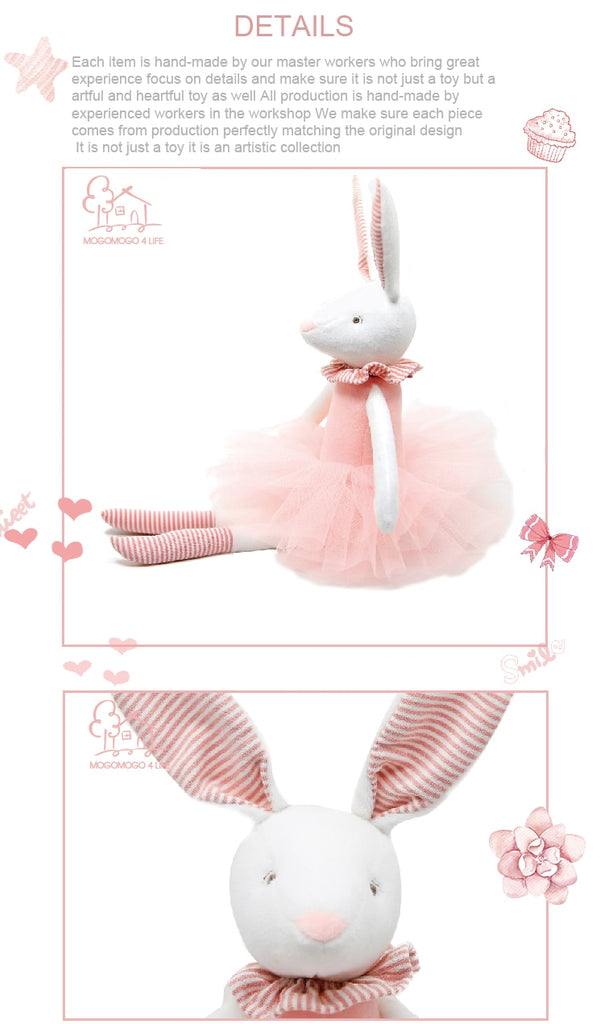 BETTY PINK BUNNY TOY