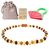 BALTIC AMBER TEETHING NECKLACE / NECKLACE