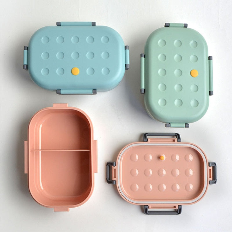 SILICONE PASTEL LUNCH BOX