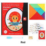 MAGNETIC 3D JIGSAW PUZZLE MONTESSORI TOY