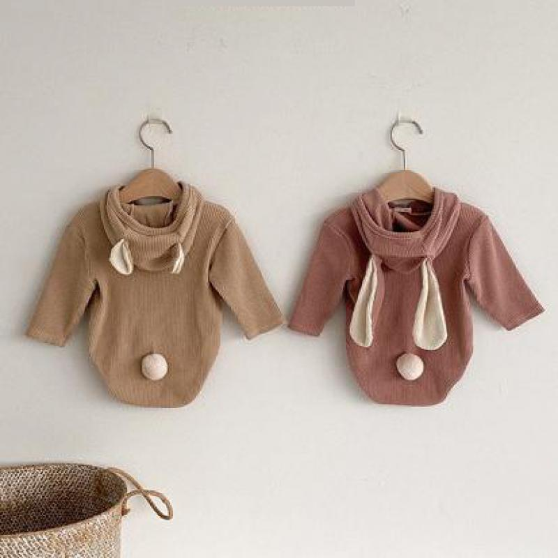 RABBIT EARS LONG SLEEVES ONESIE
