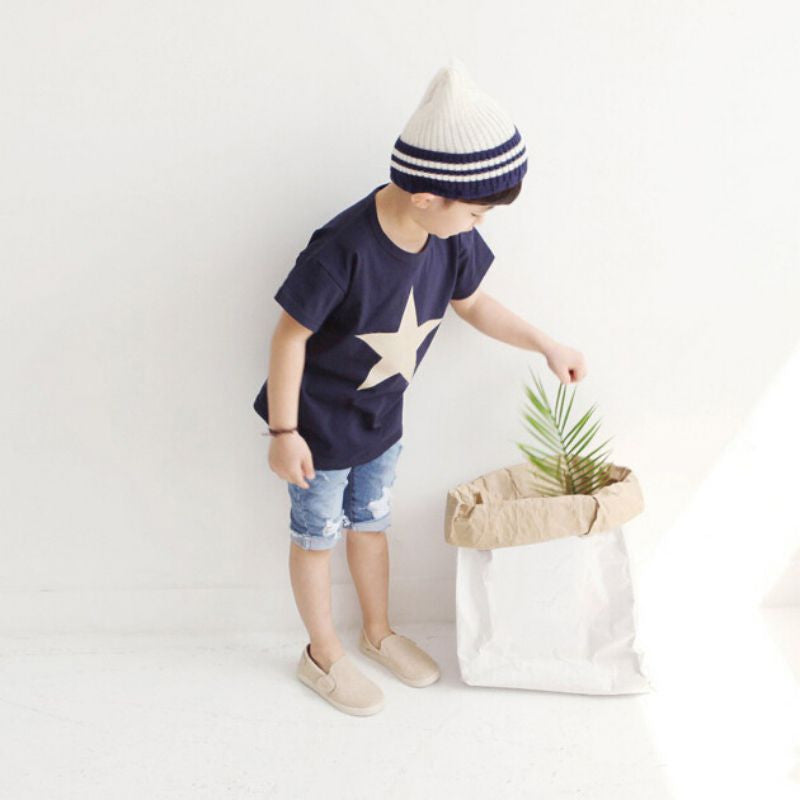 SUMMER STAR TEE SHIRT S 2-7T
