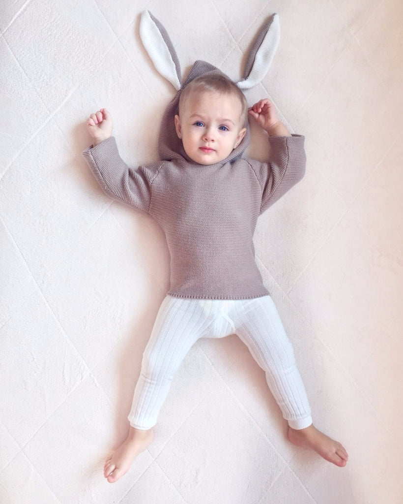 THE RABBIT SWEATER  1-5 YEARS OLD