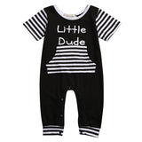 LITTLE DUDE ROMPER NEWBORN