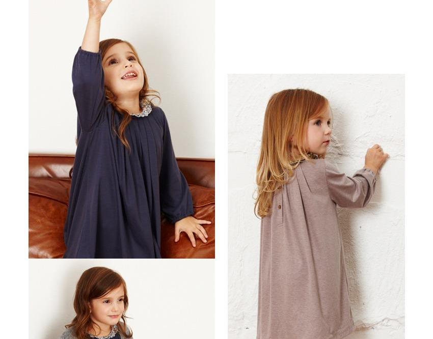 ROMY LONG SLEEVES DRESS 2-8 years old