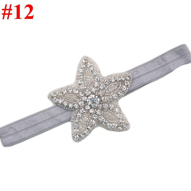 FLOWER RHINESTONE HAIRBAND