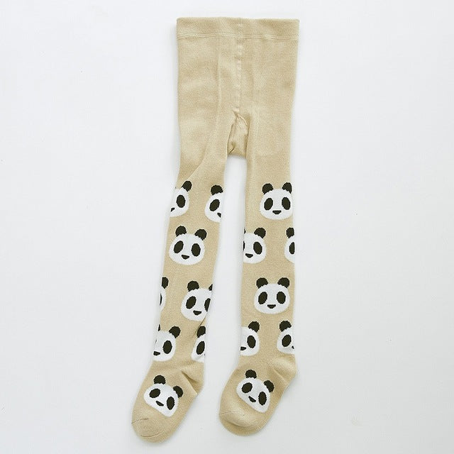 CUTE PANDA TIGHTS 0-3Y