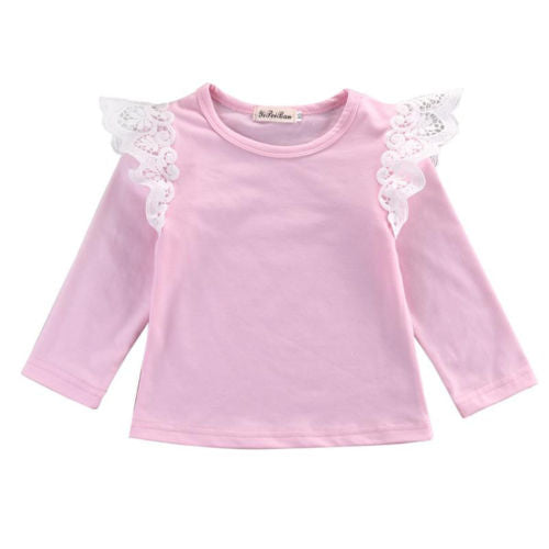 WINGS LONG SLEEVES GIRLS TOP