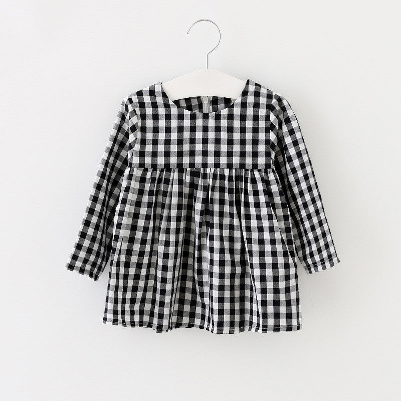 KATY PLAID DRESS BABY GIRL