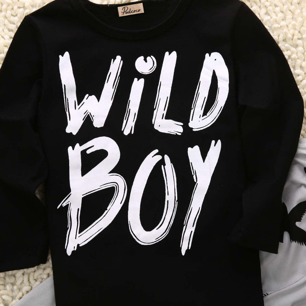 I AM  WILD BOY SET NEWBORN