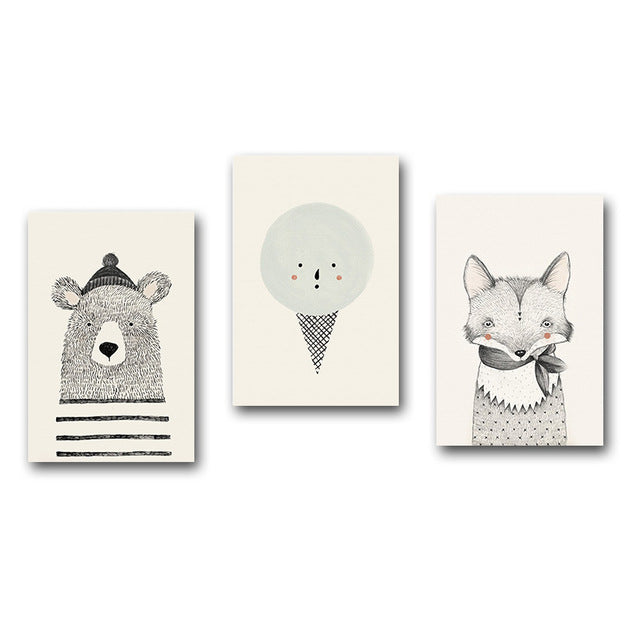 NORDIC ANIMALS PRINTS