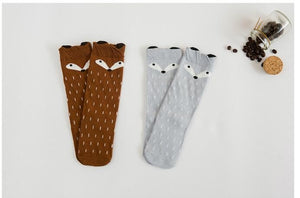 GREY KNEE SOCKS 0-6 years old