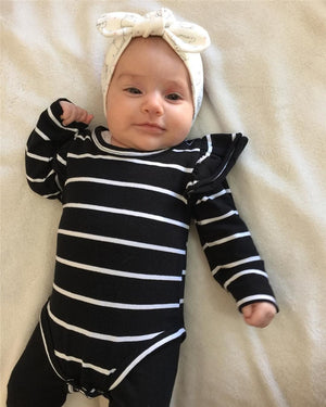 NAVY ONESIE  BABY GIRL