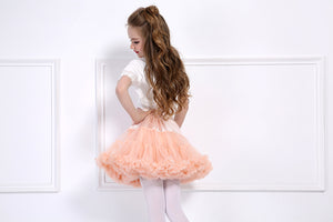 LIGHT PINK DOUBLE LAYER TUTU SKIRT
