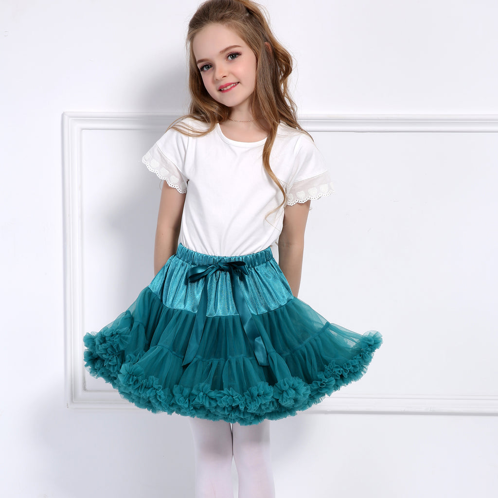 PINK DOUBLE LAYER TUTU SKIRT