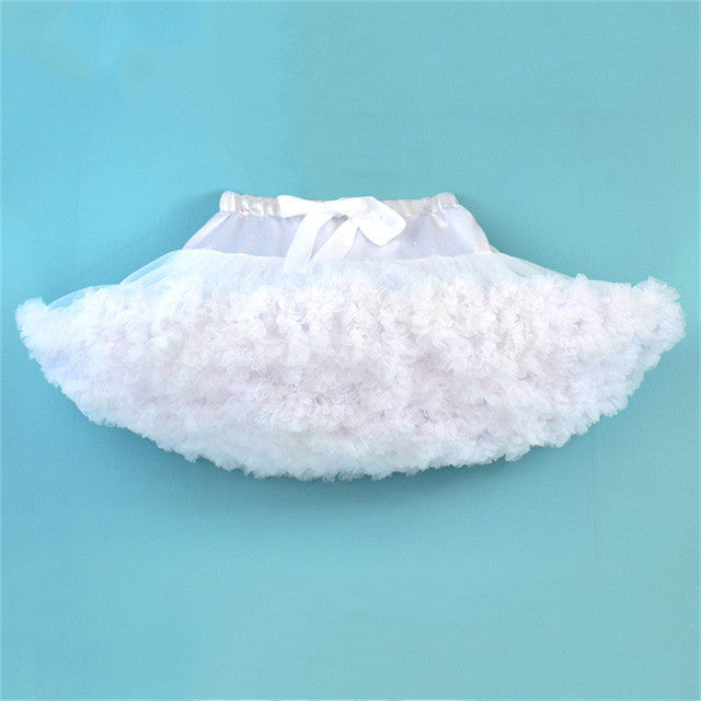 DOUBLE LAYER FLUFFY TUTU SKIRT