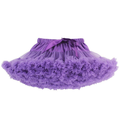PURPLE DOUBLE LAYER TUTU